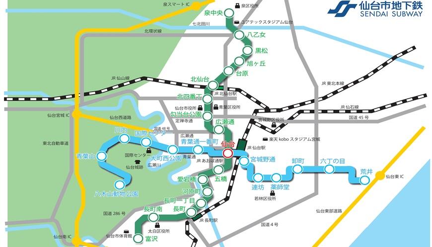 东西缐上路,仙台更好玩!──地铁一日券景点攻略