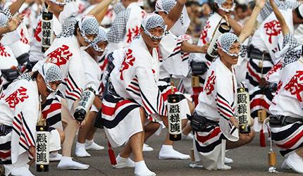 舞动日本传统风情:130万人到访的夏日祭典「德岛阿波舞」