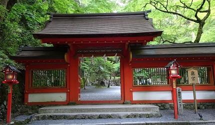 京都必访!水与结缘的传说──贵船神社
